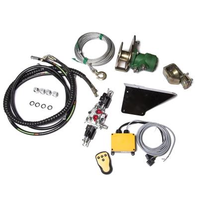 Rádiový diaľkovo ovládateľný hydraulický navijak pre...