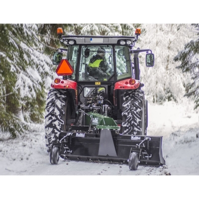 Snehová radlica vrátane kolies a hydraulického valca...