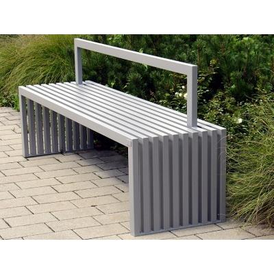 Oceľová lavička Foca