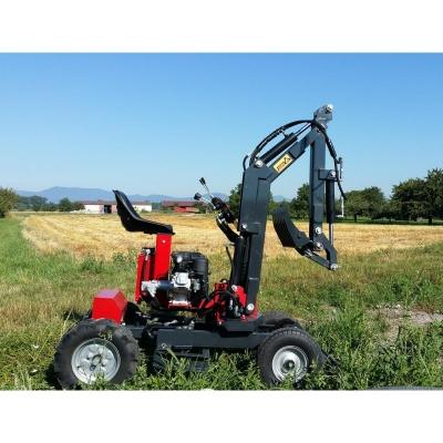 Minibager Jmeka kolesový KN2 9HP benzín - manual štart /...